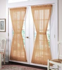 French Door Curtains: 7 Most Stylish | French door ...