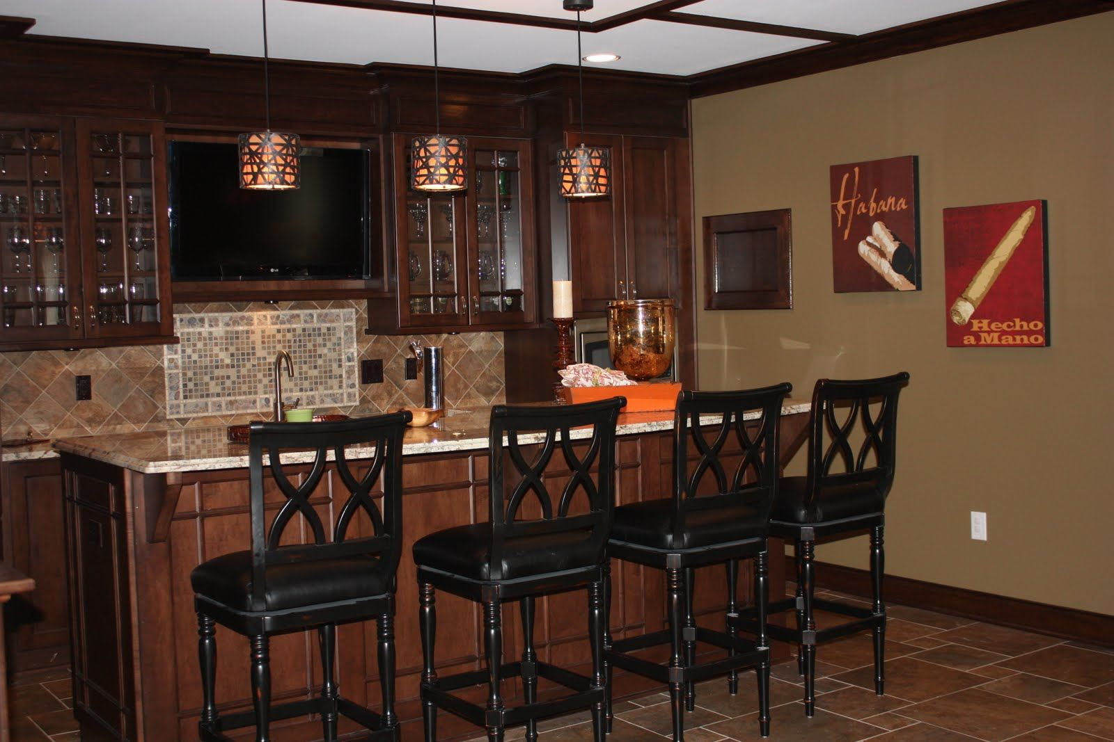 Best Home Bar Pictures  Small basement bars Basements