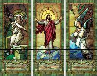 Church Stained Glass Window Patterns | Artistic Illuminado ...
