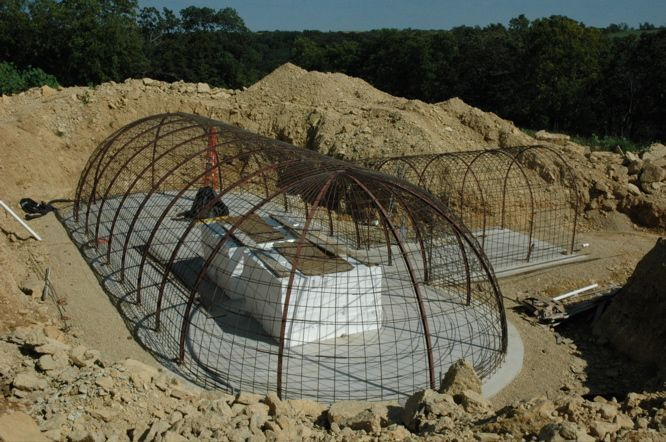 Structural Steel – Formworks Building – An Underground Dome Hybrid