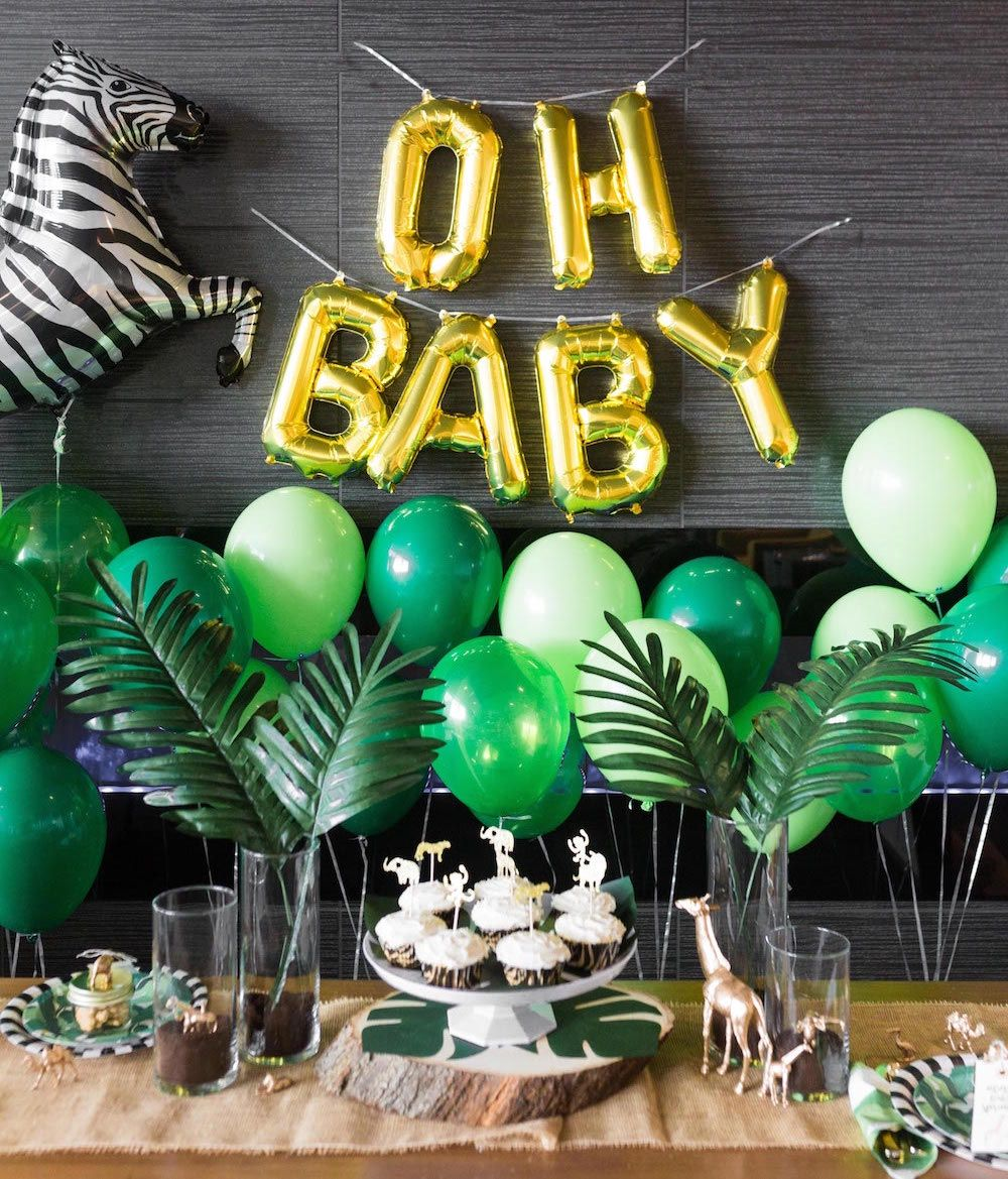 Safari Baby Shower Food Ideas