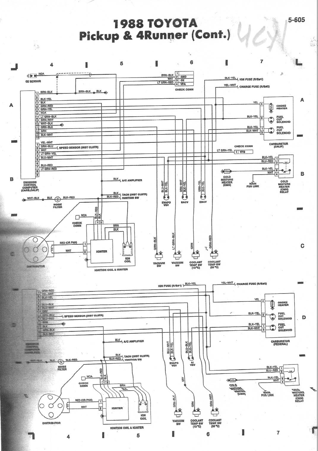 wiring diagram for toyota 4runner stereo exothermic reaction energy 3988 3vze 5 speed help page 2 yotatech