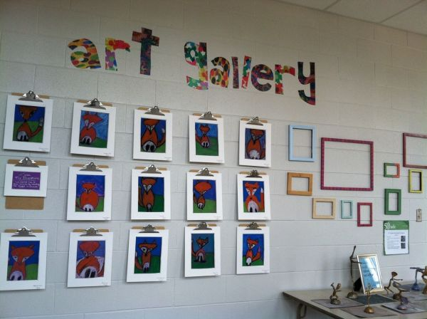 Classroom Art Display Ideas