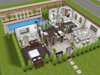 The Sims Freeplay Best House Design Modern Design