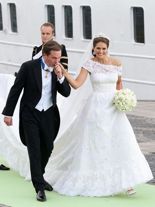 Prinzessin Madeleines Brautkleid Valentino Madeleine Und Hochzeit