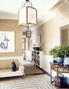 comfortable home decor ideasdecorating also long hallway floor space and settees rh pinterest
