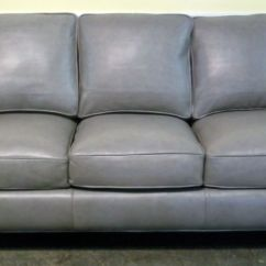 Gray Leather Sofa Images White Stretch Cover Blaine 39s Rain Street