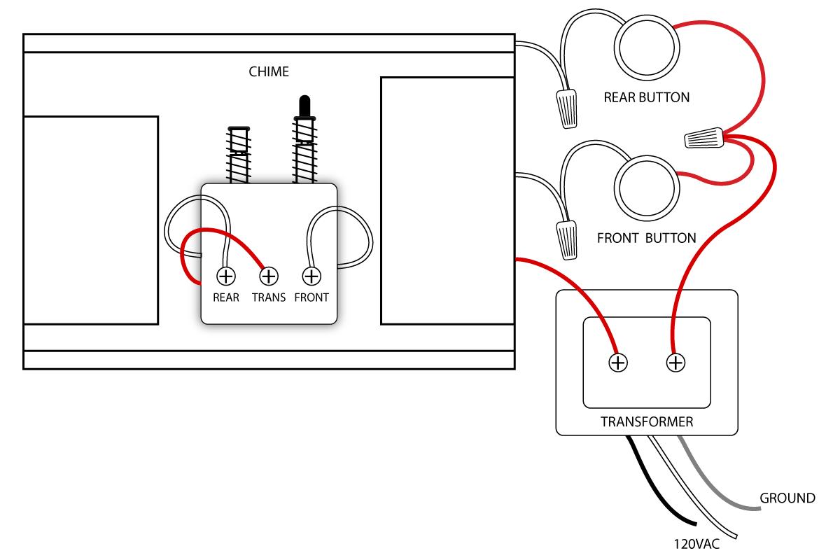 bell wiring diagram mic diagrams cb doorbell doors and house