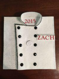 Culinary School Graduation Cap - Chef Jacket   Holidays ...