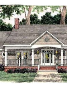 Southern exterior front elevation plan also house models rh pinterest