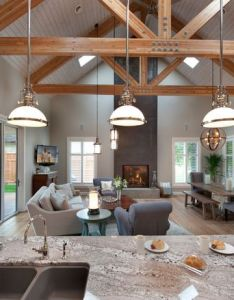 Transitional living room finding  vintage vibe with new construction in kelowna bc also rh za pinterest