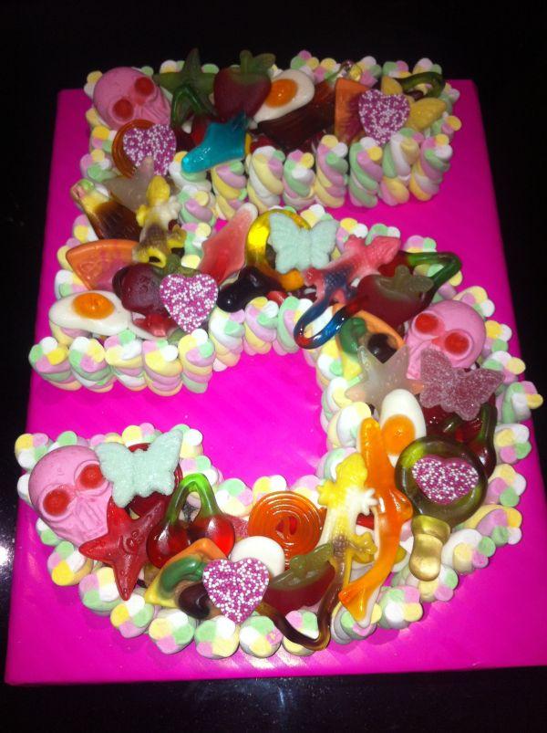Number 5 Birthday Cake Ideas For Girls