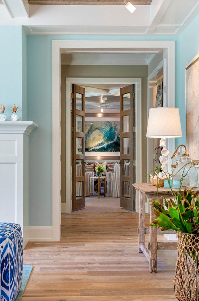 Hallway Decorating Ideas Hallway Coastal Decor Hallway With Blue