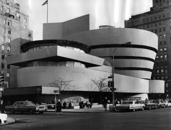 Solomon . Guggenheim Museum Nyc. 1959. Frank Lloyd