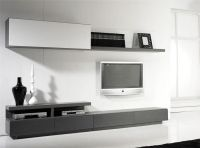 All in One Contemporary Wall Storage System Shelving, TV ...