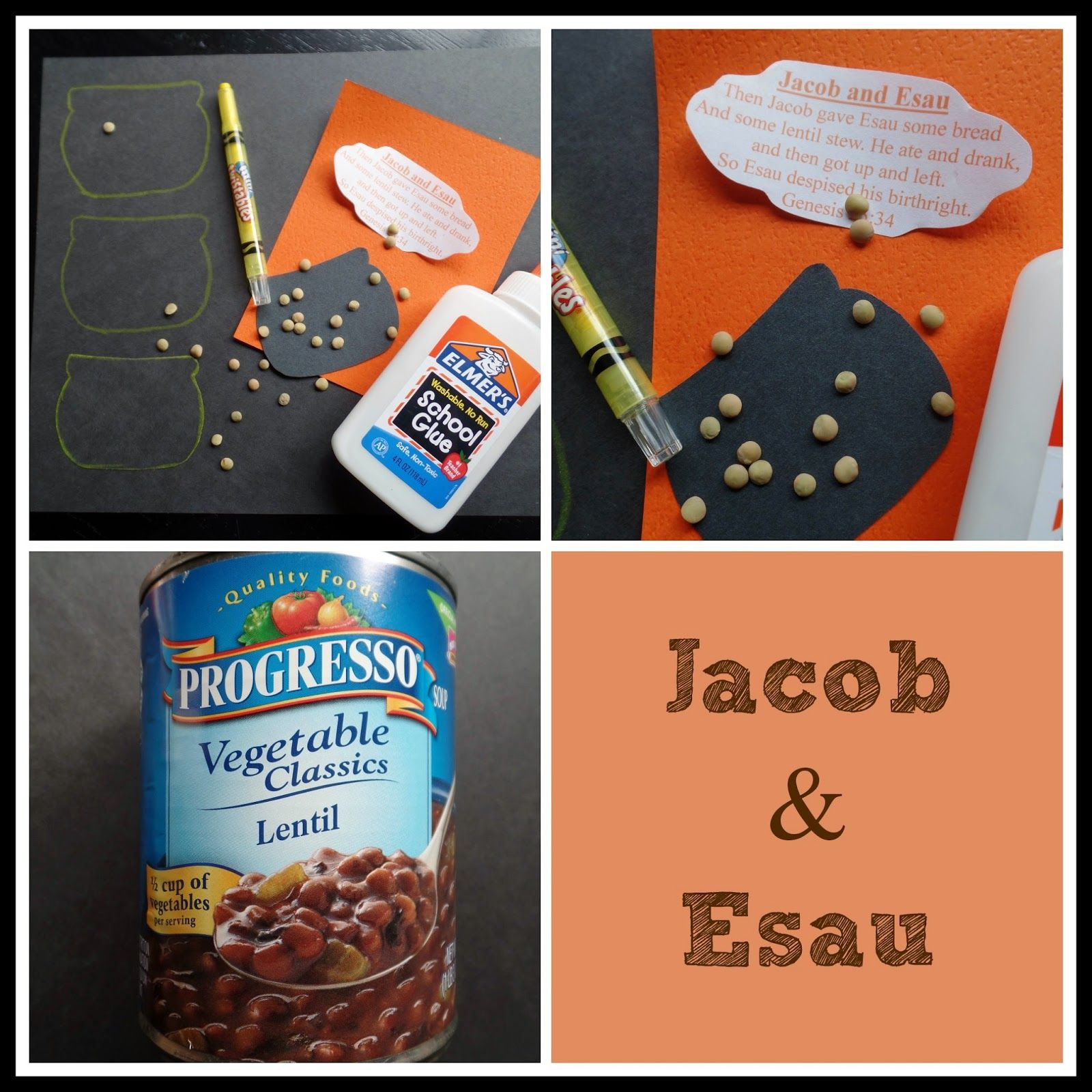 April S Homemaking Simply Sunday School Jacob And Esau