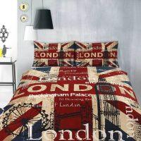 Vintage Union Jack Bedding