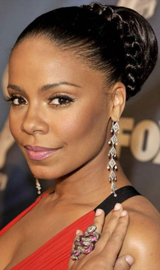 Updo Hairstyles For Black Women With Swoop Updo Hairstyles Black
