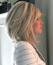 chic medium hairstyles