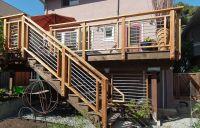 deck railing ideas | Cool-looking, Cost-efficient Deck ...