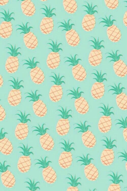 Background Cute Hipster Iphone Mint Pastel Pineapple