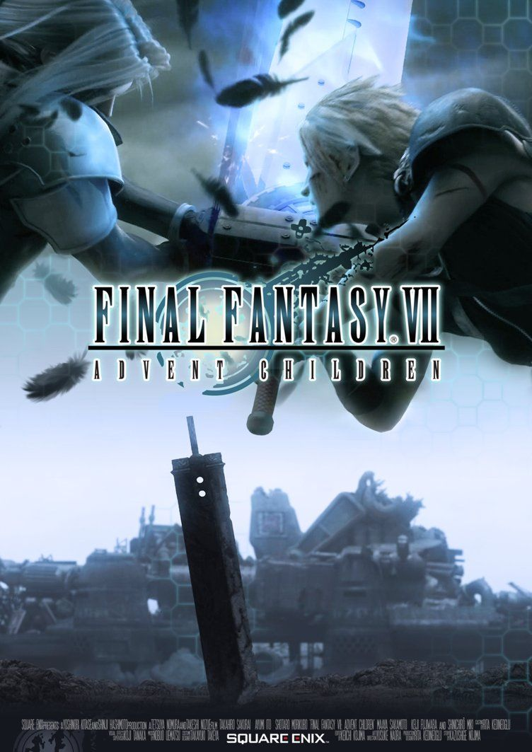 Final Fantasy VII Advent Children The Best Films