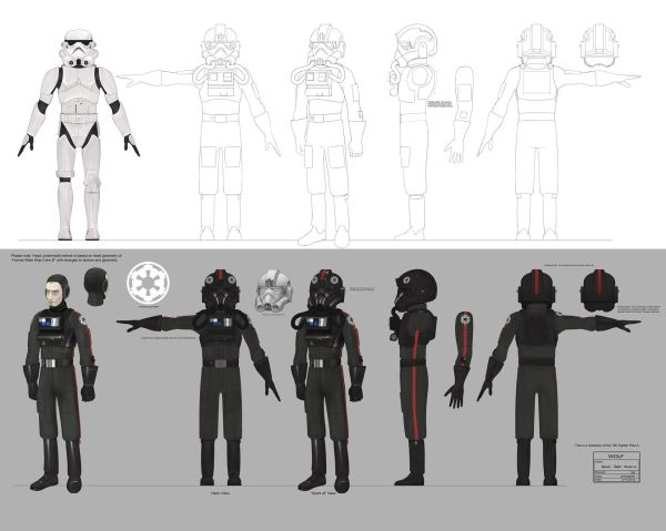 Empire Day Concept Art Troopers