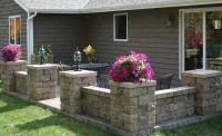 retaining wall blocks patio - Google Search | Outdoor ...