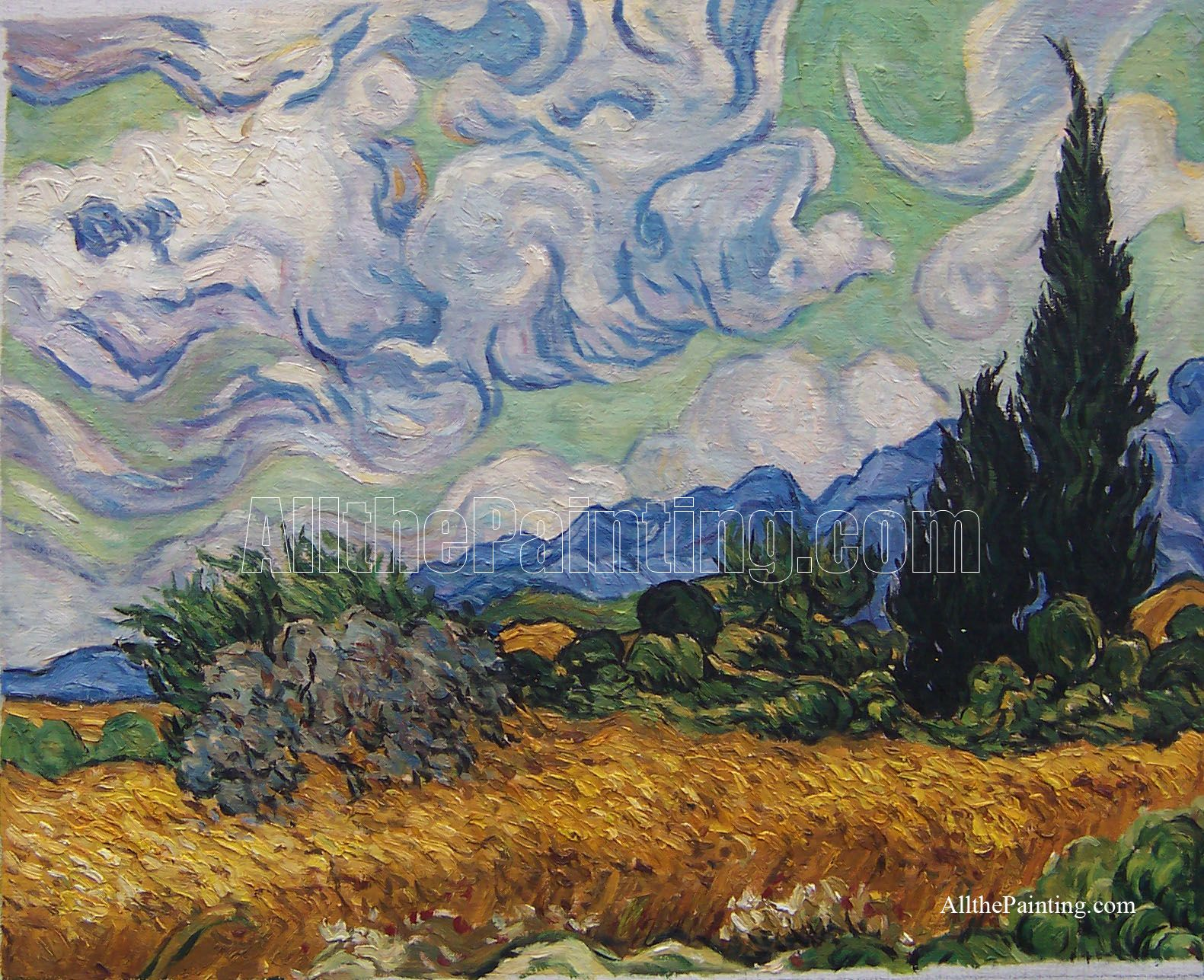Wow I Really Love How Van Gogh Paints Google Image