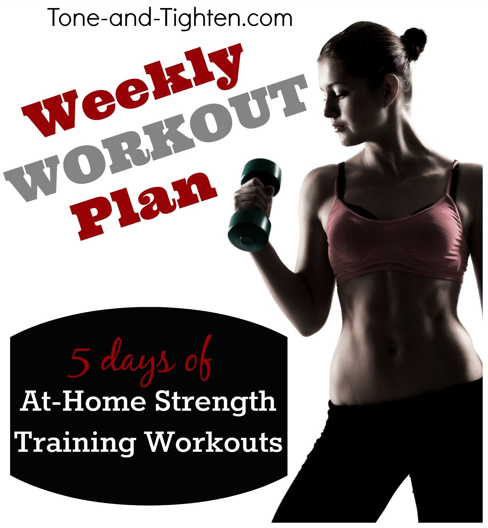 5 Great At Home Strength Training Routines From Tone And Tighten Workout Fitness
