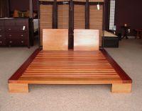 +diy+Japanese+Furniture   Domo Platform Bed in Honey Oak ...
