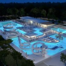 Mansions with Pools and Water Park