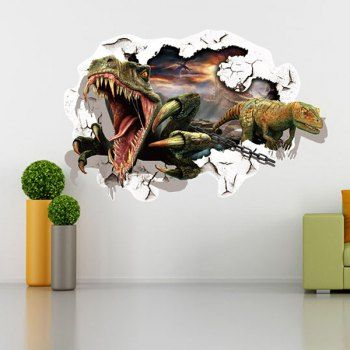 Good quality dinosaur pattern removeable  wall sticker home decoration also waterproof rh pinterest