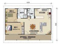 Granny Flat Plans on Pinterest | Granny Flat, 3d House ...