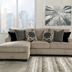 Ashley Cohes Sofa Chaise Carlyle Nyc Locations Katisha Platinum 2 Piece Sectional With Left By