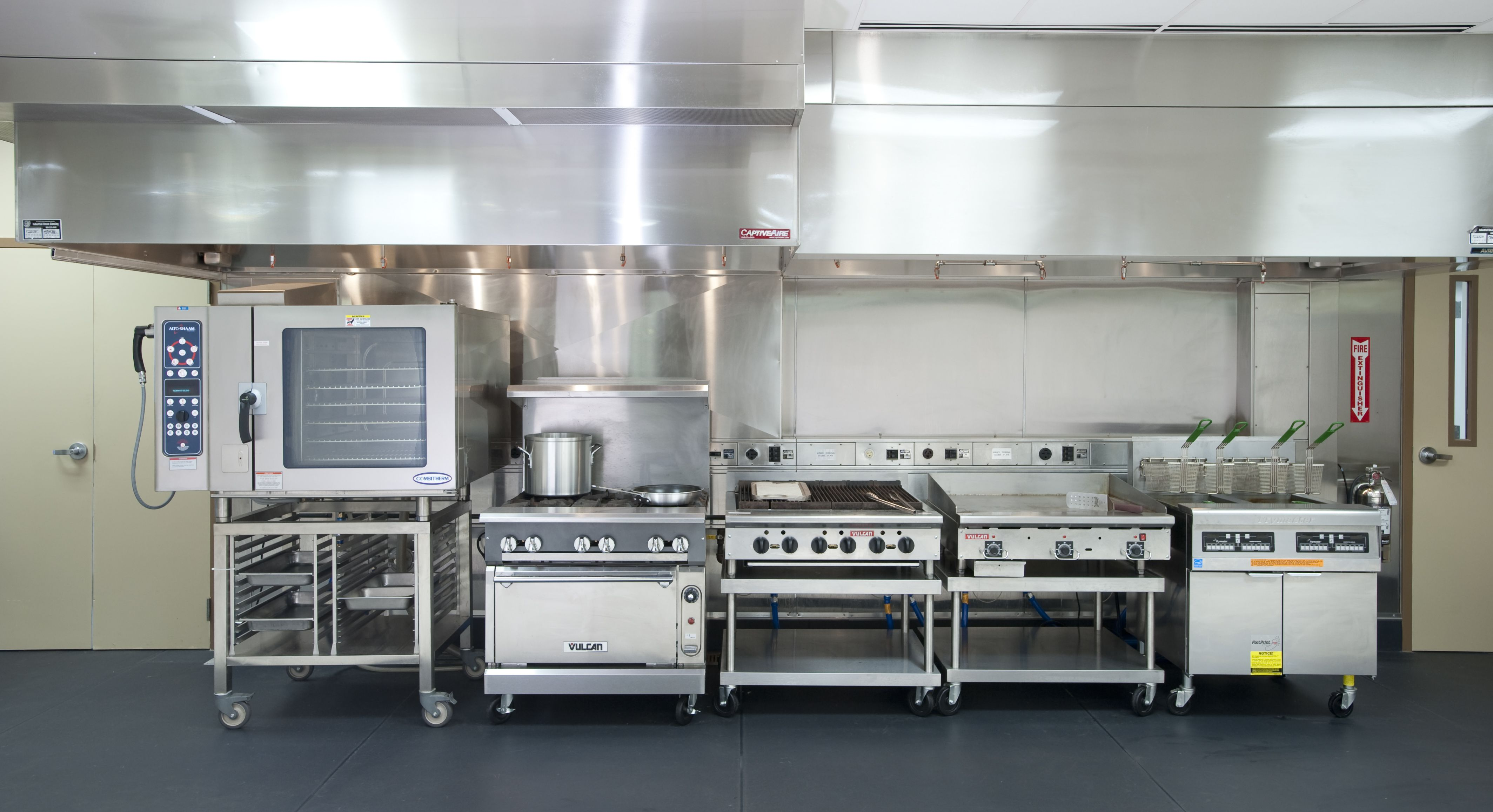 restaurant kitchens  Google Search  Industrial Restaurant Design  Summit  Pinterest