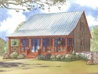 e-Plans Low Country House Plan  Cabin Style Plan With ...