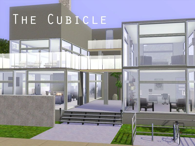 Mod The Sims The Cubicle A Modern Home Simsss!!! D