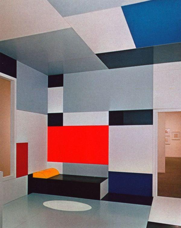 Deathofastylist Piet Mondrian - Salon De Madame . 1923
