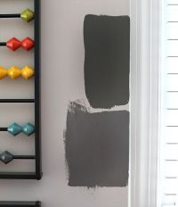Gray Paint Swatches...bottom dark granite by Behr | Paint ...