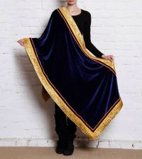 Pure velvet shawl | Bollywood saree | Pinterest | Shawl ...