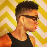 cut and shaved sides