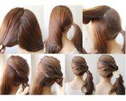 cute ponytails shoulder length