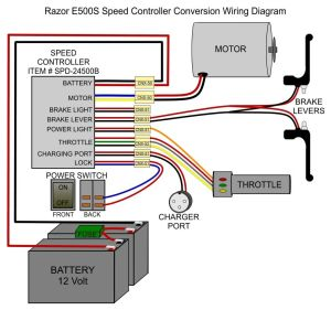#Razor_E500s Replacement Controller | ?#?Electronicstudents? | ?#?Electricalstudents