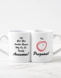 great way to announce your woman super power coffee mug set baby ts also rh uk pinterest