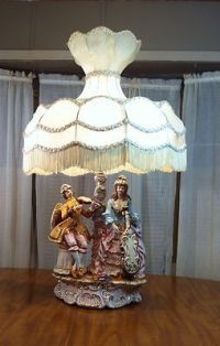 Capodimonte Lamps Made in Italy | ... Victorian ...