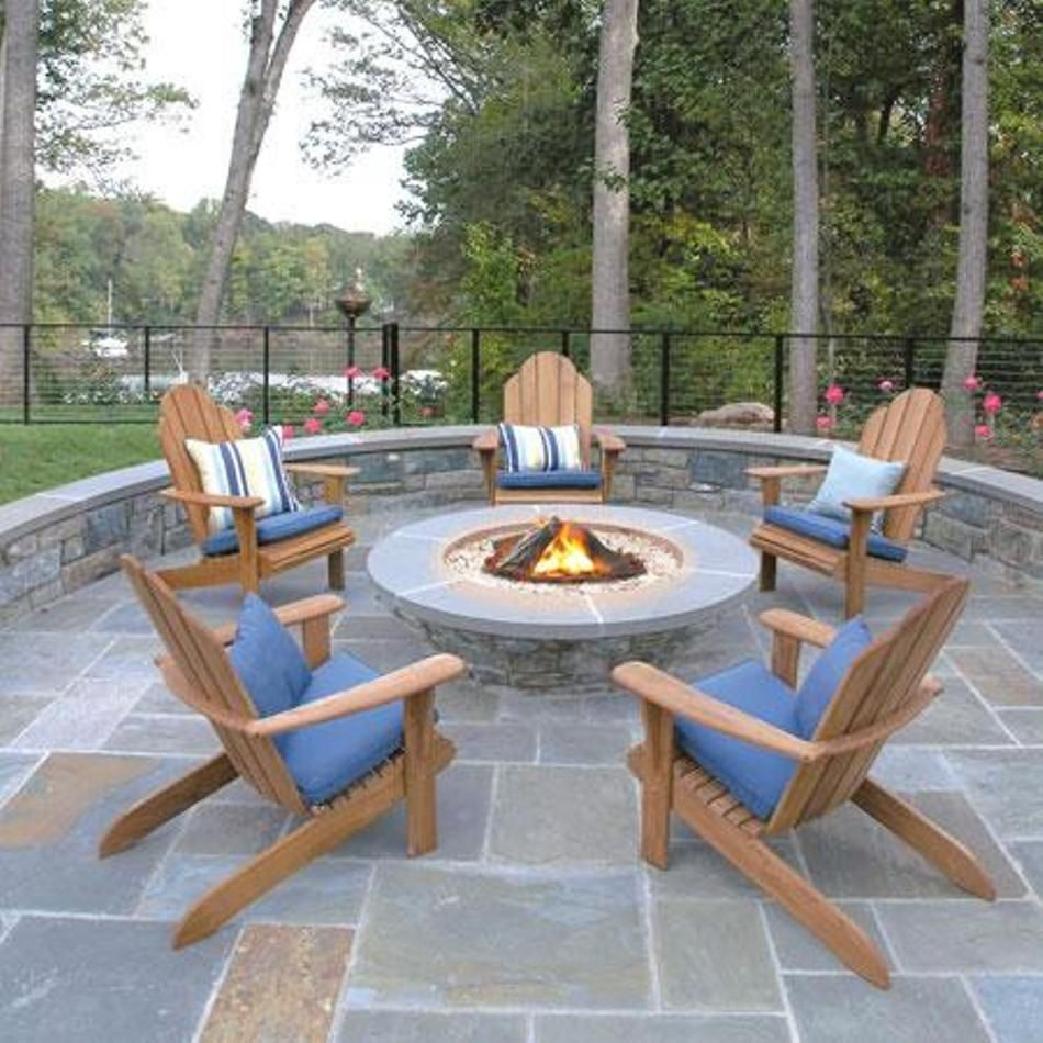 Garden And Lawn , Outdoor Adirondack Chairs : Teak