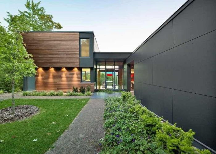 Architecture interiors cladding timber garden design ideashome also ideas for the house pinterest modern country