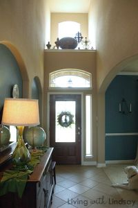 How to Decorate an Above the Door Ledge | Decorating ...
