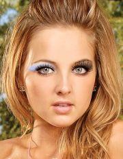 hair color green eyes